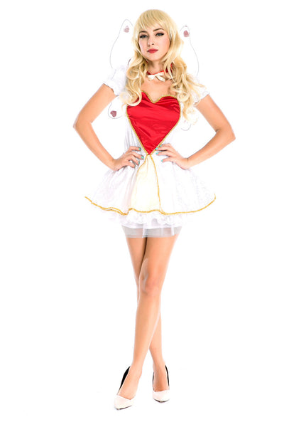 Love the Cupid Goddess Lace Cupcake Costumes for Halloween