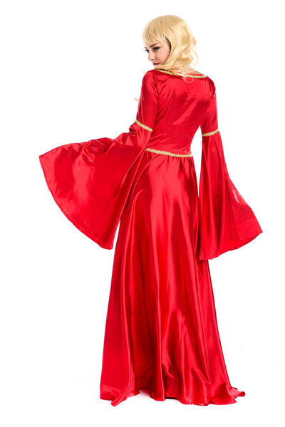 Red Court  Evening and Bridal Long Skirt