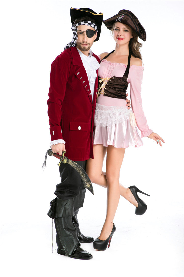 The Couple Pirate Costumes for Halloween Cosplay  sc 1 st  Zaydle & Costumes for Couple - Zaydle
