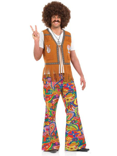 Men Retro Fashionable Disco Hip Hop Costumes for Halloween