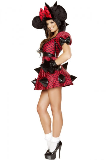 Halloween Sassy Minnie Mouse Costume for Women
