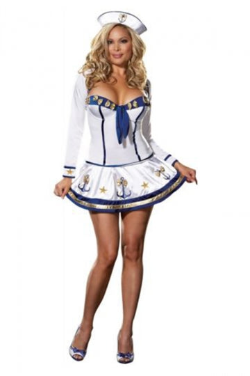Making Waves Sailor Girl Costume