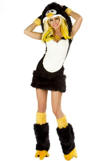 Snug and cuddly Penguin Costume Womens