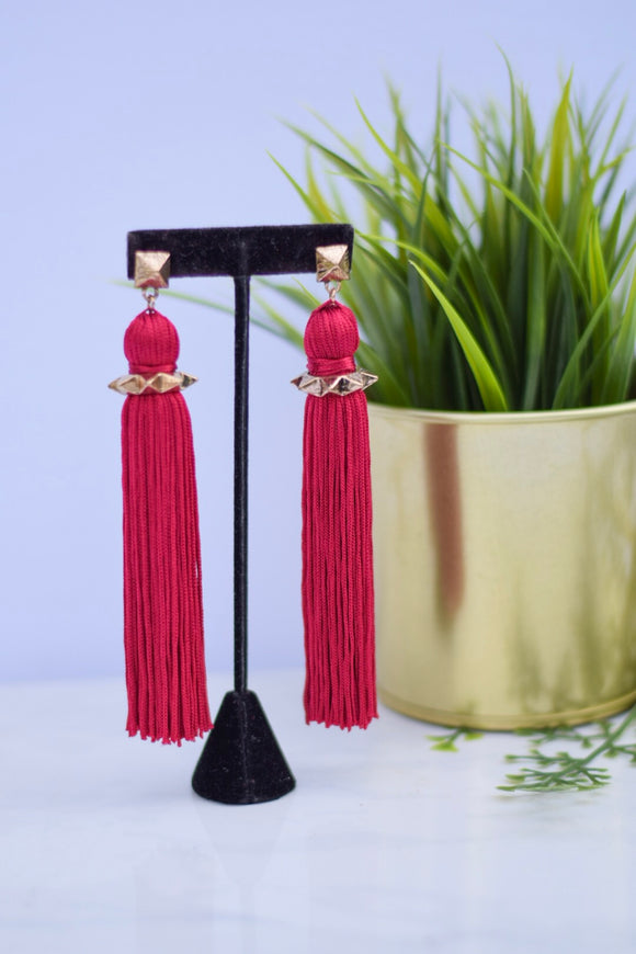 Charisse Tassel Earrings