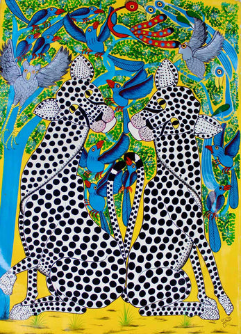 Tingatinga Paintings | True African Art .com