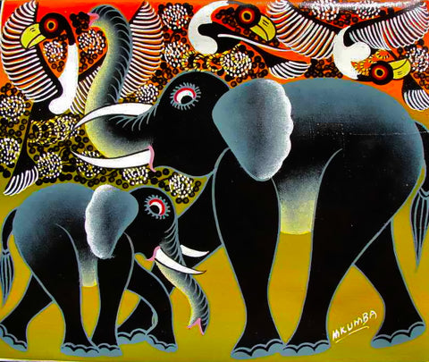 Tingatinga Cooperative Arts Society  |  True African Art .com