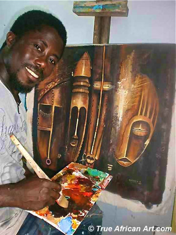 African Painter Appiah Ntiaw
