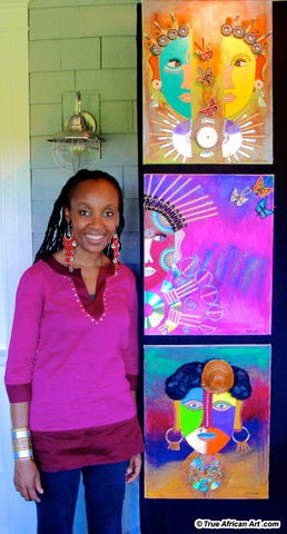Contact Gathinja Yamokoski, Owner of True African Art .com