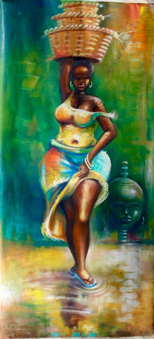 African Artwork by Amakai