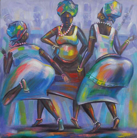 Musical African Art from Ghana