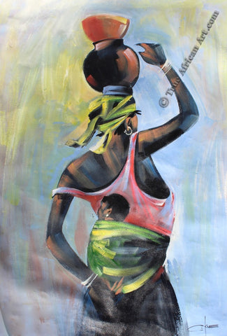 Into the Future |  C-Kle's African Artwork