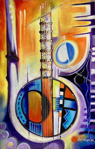 Olumide Egunlae's The Instrument  |  Gambia  |  True African Art .com