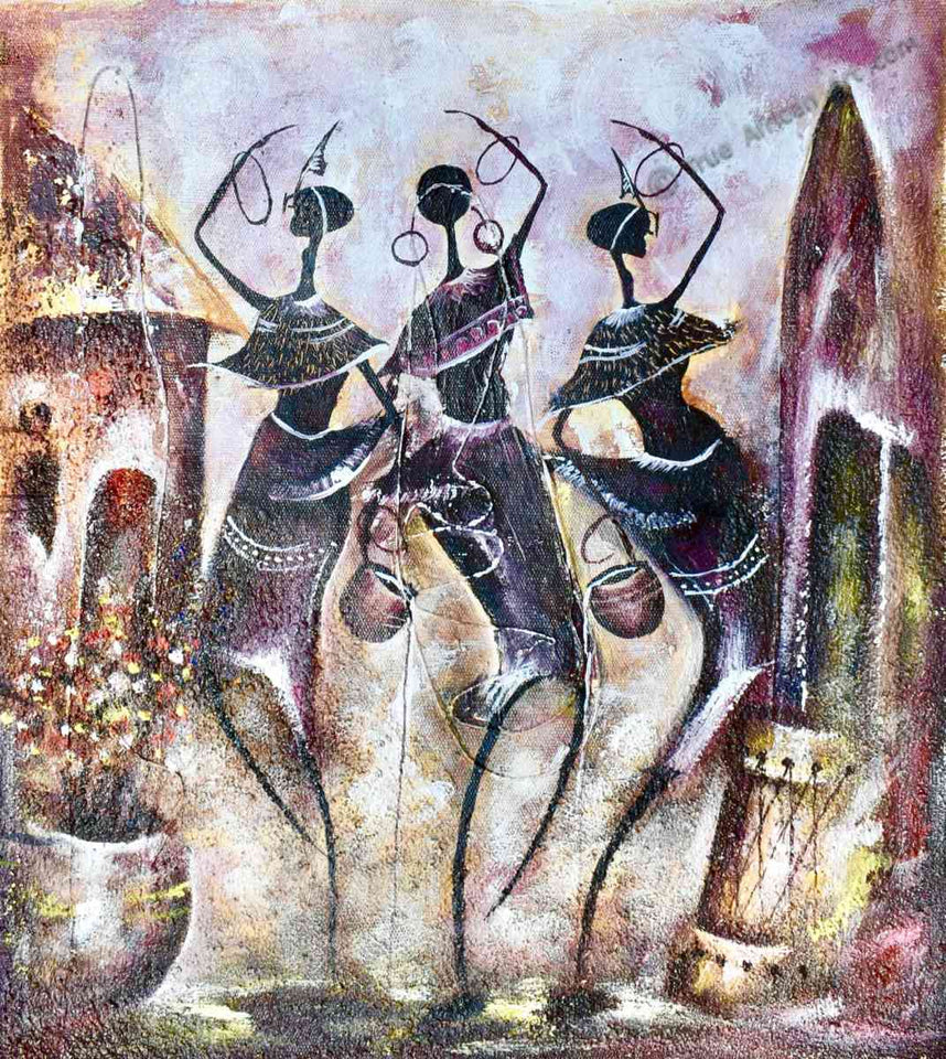 African Art - Willie Wamuti