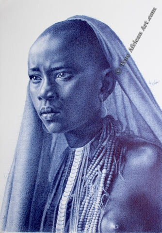 By Enam Bosokah | Woman of Hope | True African Art .com