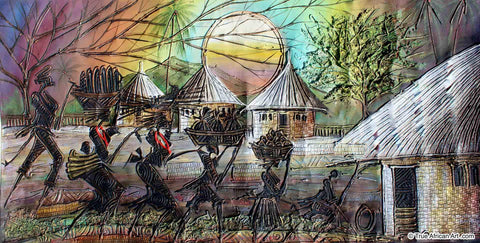 "Paul Gbolade Omidiran | Nigeria |  ""Return from the Farm""  