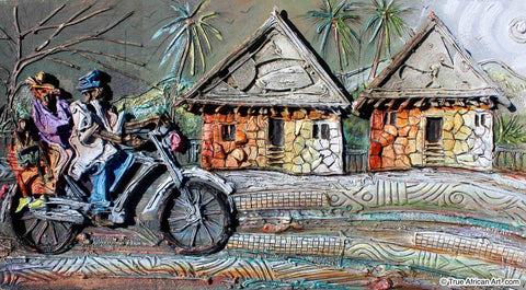 "Paul Gbolade Omidiran | Nigeria | ""Family Cyclist"" 