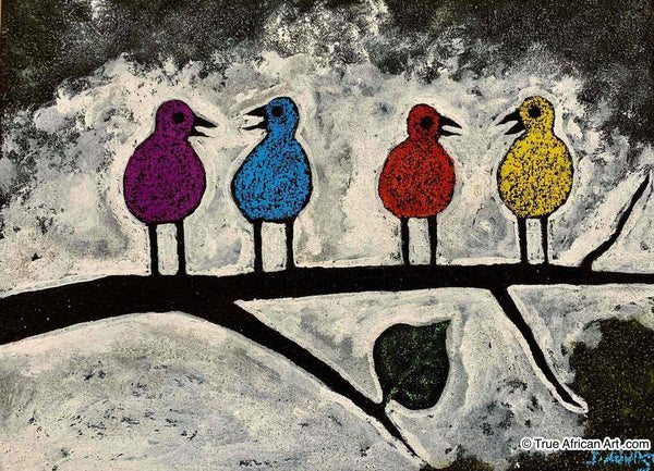 "John Ndungu  |  Kenya  |  ""Four Little Birds""  