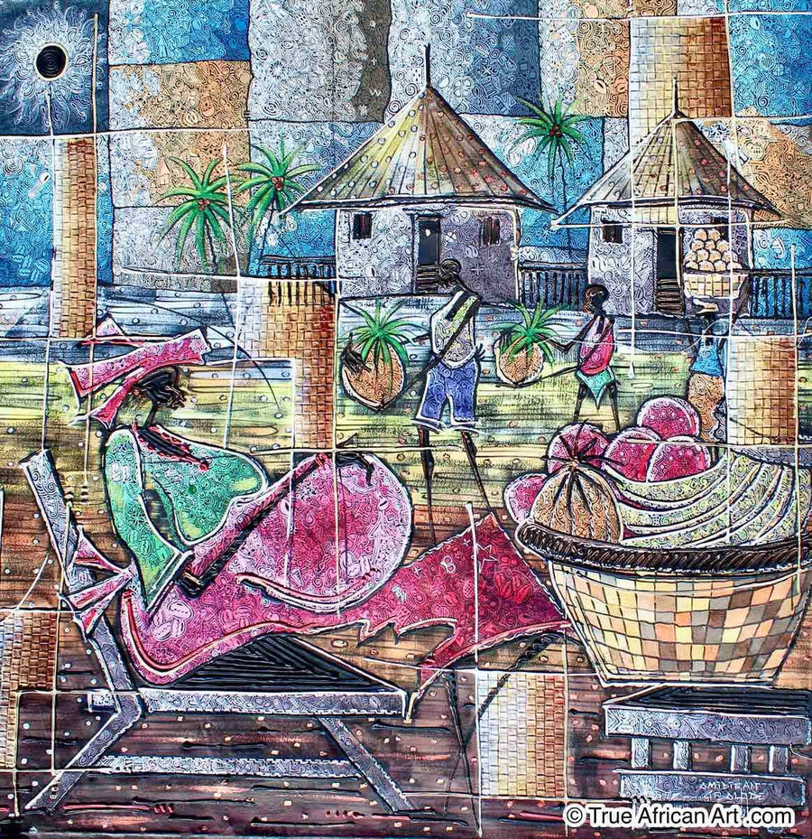 Paul Gbolade Omidiran - Fruit Selling Village