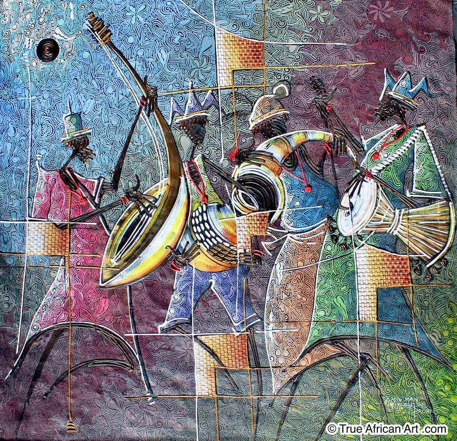 Paul Gbolade Omidiran - Four Music Makers