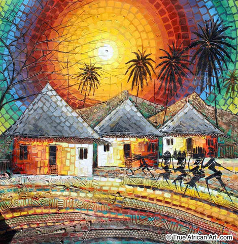 "Paul Gbolade Omidiran | Nigeria |  ""Family from the Farm""  