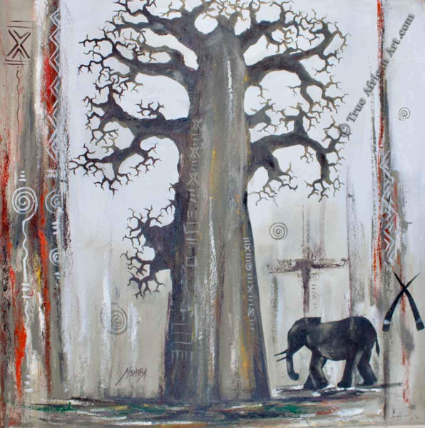 "Daniel Akortia  |  Ghana  |  ""A Baobab Tree for a Baby Elephant""  