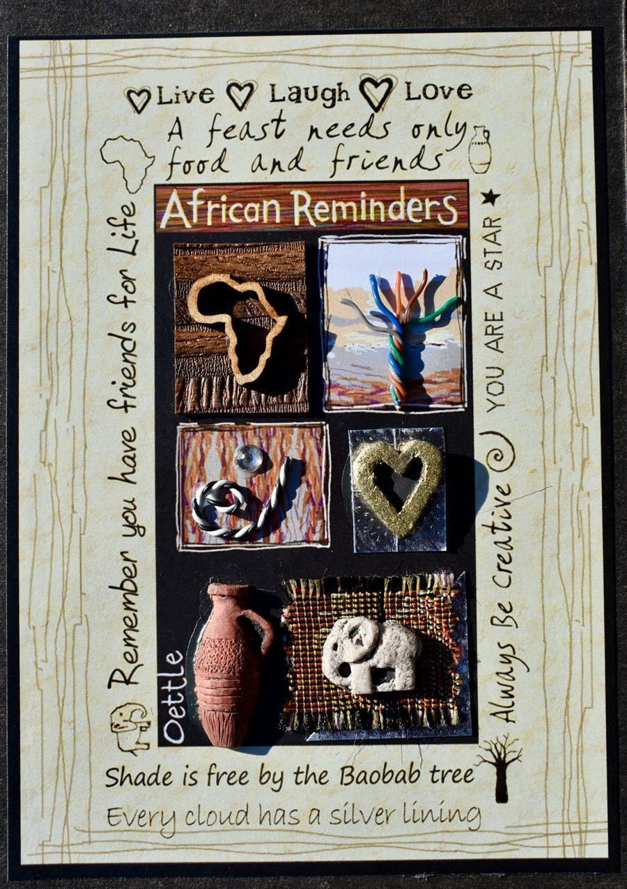 South Africa Cards - African Reminders