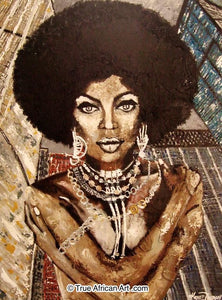 "Kowie Theron  |  South Africa  |  ""Afro Beauty in Manhattan""  
