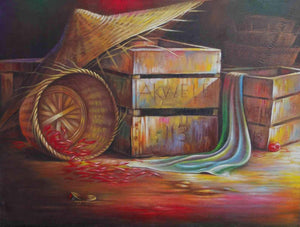 "40 Other Artists  -  ""Akwele's Box""  -  True African Art .com"