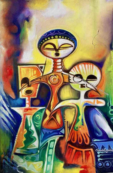"Olumide Egunlae |  ""Ancient Figures""  