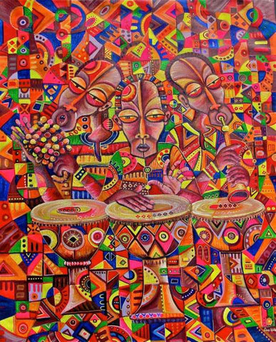 African Artwork | Angu Walters | True African Art .com
