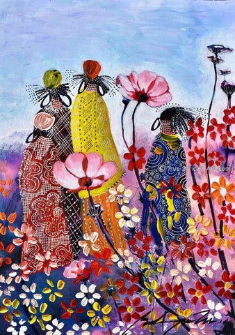 African Art Paintings | True African Art .com