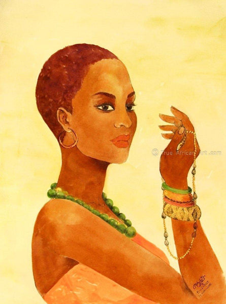 Mahlet  |  Ethiopia  |  Beauty Stance |  Print  |  True African Art .com