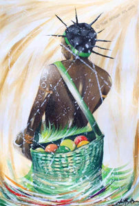 "Nii Hylton  -  ""Eritrean Harvest""  -  True African Art .com"
