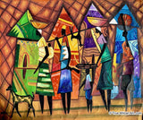 Francis Sampson  |  Ghana  |  F-10  | True African Art .com