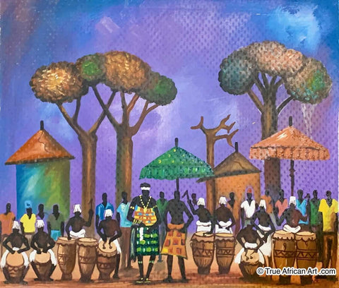 Francis Sampson  |  Ghana  |  F-12  |  True African Art .com