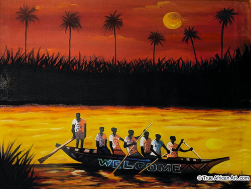Francis Sampson  |  Ghana  |  F-13  | True African Art .com