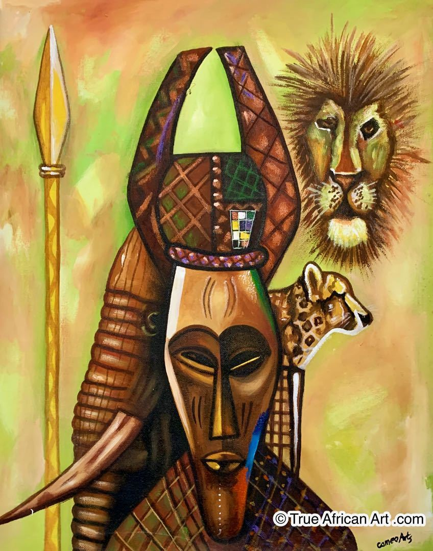 Francis Sampson  |  Ghana  |  F-1  | True African Art .com