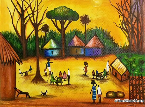 Francis Sampson  |  Ghana  |  F-2  |  True African Art .com