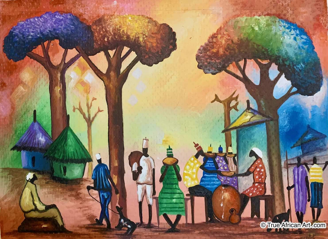 Francis Sampson  |  Ghana  |  F-3  |  True African Art .com