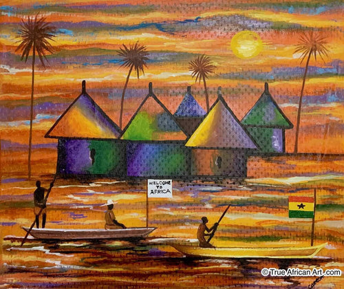 Francis Sampson  |  Ghana  |  F-4 |  True African Art .com