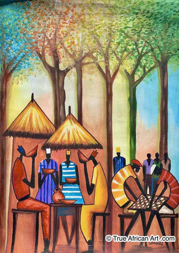 Francis Sampson  |  Ghana  |  F-9 |  True African Art .com