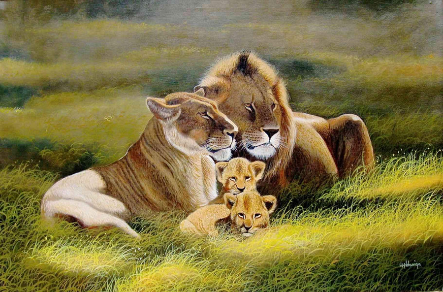 Wycliffe Ndwiga - Family of Lions