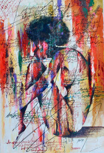 "Daniel Akortia  -  ""Figuring it out""  -  True African Art .com"