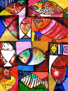 "Appiah Ntiaw   |  Ghana  |  ""Fish Bunch""  