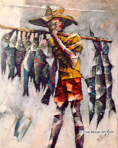 "Masoud Kibwana  |  Tanzania  |  ""Fish Vendor""  