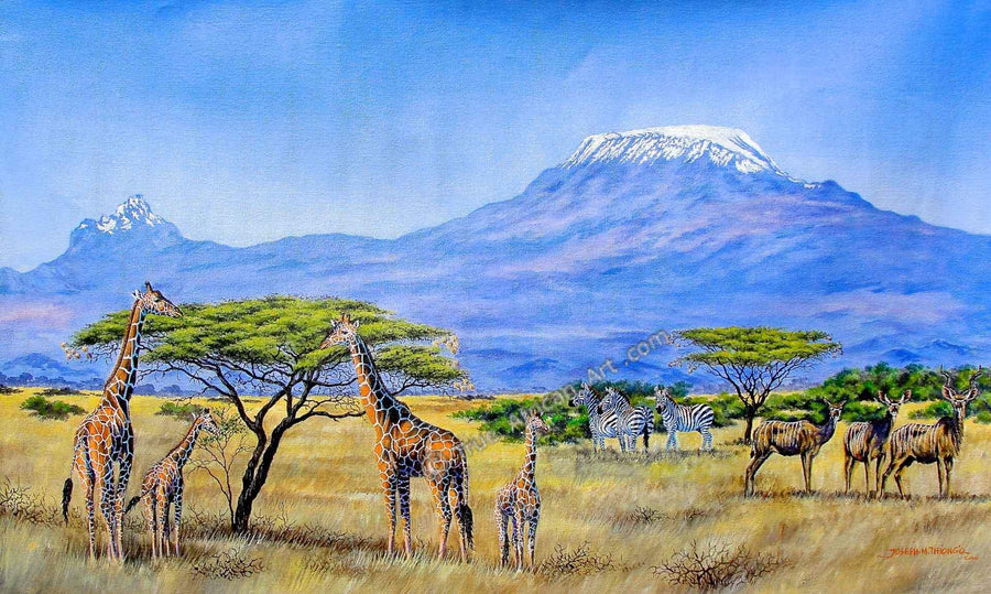 Joseph Thiongo - Gathering at Mount Kilimanjaro