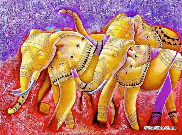 "Masoud Kibwana  |  Tanzania  |  ""Grand Elephants""  
