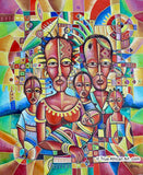 "Angu Walters | Cameroon | ""Happy Family - 2020"" 