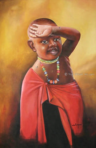 "Chagwi  -  ""I Want to Join Them""  -  True African Art.com"