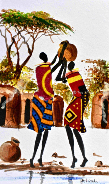 L -262 - Albert Lizah - True African Art .com